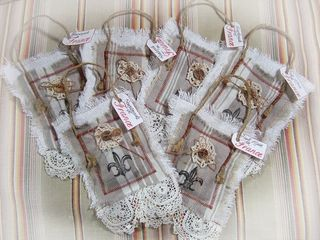 Fr lavender and lace bags